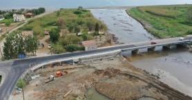 Η γέφυρα του Πλατανιά μετά την αποκατάσταση των ζημιών (φωτο)