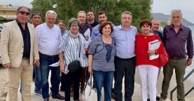 Περιοδεία Στ. Αρναουτάκη και υποψηφίων του συνδυασμού