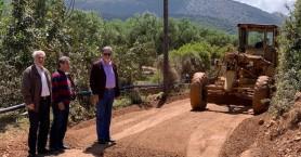 Σε εξέλιξη έργα ασφαλτοστρώσεων στον δήμο Αγίου Νικολάου