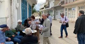 Επίσκεψη στο Οροπέδιο Λασιθίου των υποψηφίων του συνδυασμού «Κρήτη η ζωή μας»