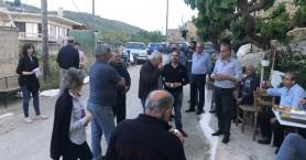 Περιοδεία Μαλανδράκη σε χωριά της δημοτικής ενότητας Κολυμβαρίου