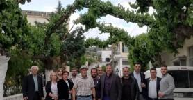 Το οραματικό έργο φράγματος στο Κυπαρίσσι συζητάει ο Πέτρος Ινιωτάκης