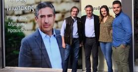 Συνέντευξη του υποψήφιου Δημάρχου Ηρακλείου, Πέτρου Ινιωτάκη στο FlashNews.gr