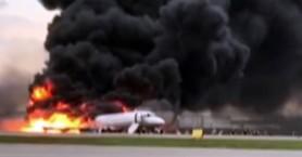 Ρωσία: Σοκαριστικά βίντεο από τη στιγμή του αεροπορικού δυστυχήματος