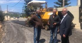 Αποκαθίστανται δρόμοι στην Νέα Κυδωνία: Εργασίες ασφαλτόστρωσης από Δήμο Χανίων και ΔΕΥΑΧ