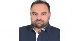 Την υποψηφιότητά του με τον συνδυασμό του Ευτ. Δαμιανάκη ανακοίνωσε ο Νεκτάριος Ψαρουδάκης