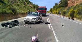 Μαύρη πρωτομαγιά! Νεκροί δύο οδηγοί μοτο και μια τραυματίας σε τροχαίο στα Χανιά