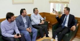 Περιοδεία του υποψήφιου Ευρωβουλευτή του ΚΙΝΑΛ Νίκου Παπανδρέου στο Ηράκλειο