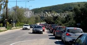Μέχρι την επόμενη εβδομάδα δίνεται σε διπλή κυκλοφορία ο δρόμος στα Μεγάλα Χωράφια;