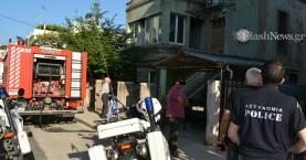 Φωτιά σε σπίτι στα Χανιά - Με εγκαύματα στο Νοσοκομείο ένα άτομο (φωτο)