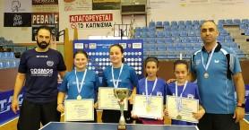 Πρωταθλήτρια στο ομαδικό η Καζάκου - Δεύτερος ο Βουμβουλάκης