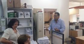 Περιοδεία κλιμακίου της ΤΕ Ηρακλείου στο ΠΑΓΝΗ