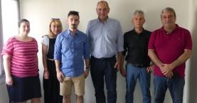 Συνάντηση Β.Διγαλάκη με εκπροσώπους φιλοζωικών σωματείων και μέλη του Δικηγορικού συλλόγου