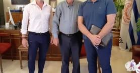 Συνάντηση Βασίλη Λαμπρινού με τον Πρόεδρο του ΙΤΕ