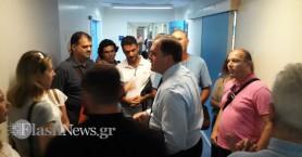 Στην Κρήτη ο διοικητής της ΑΑΔΕ για την πρωτοφανή επίθεση στους δύο εφοριακούς (φωτο)