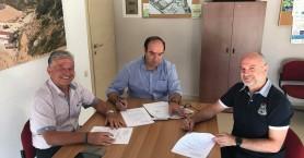 Υπογραφή σύμβασης για  την κατασκευή του νέου Κυττάρου ΧΥΤΑ στη Σητεία από τον ΕΣΔΑΚ