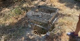 Από αυτή την τρύπα έριξε μέσα στη σπηλιά το πτώμα της Suzanne Eaton ο/οι δράστης/ες