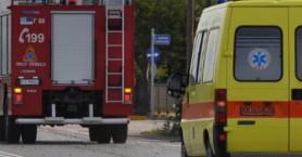 Γυναίκα εγκλωβίστηκε στο όχημα της μετά από τροχαίο