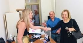 Στο Δικαστικό Μέγαρο Ηρακλείου η Θεανώ Βρέντζου-Σκορδαλάκη