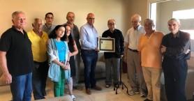 Τιμητική διάκριση στον Ιωάννη Μάντακα:  Από τον Δήμο Χανίων