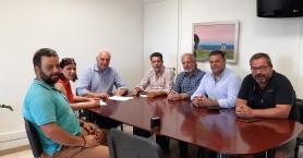 Υπογραφή σύμβασης για την ασφαλτόστρωση σε περιοχή της Βιάννου