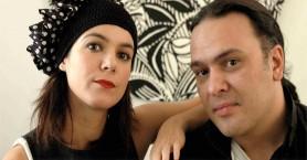 Ο Κώστας Λειβαδάς και η Ανδριάνα Μπάμπαλη στον Φουρνέ Κυδωνίας