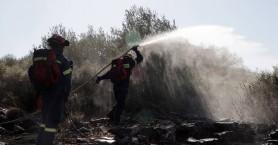 Ολονύκτια μάχη με πυρκαγιά στο Ρέθυμνο – Μπαράζ πυρκαγιών στην Κρήτη
