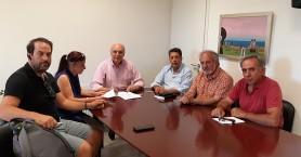 Υπογραφή σύμβασης του έργου «Αποπεράτωση του Κλειστού Γυμναστηρίου Τ11Β στην Άνω Βιάννο