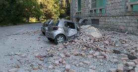 Αλβανία: Ζημιές σε κτίρια από τις σεισμικές δονήσεις