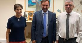 Επίσκεψη στην Κύπρο του Αντιπεριφερειάρχη Κρήτης Γιώργου Αλεξάκη