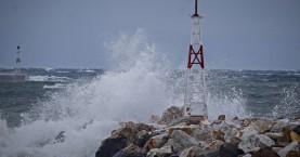 Πού έριξε τη μεγαλύτερη ριπή ανέμου στην Κρήτη σήμερα