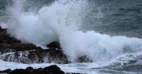 Οι υψηλότερες ριπές ανέμου στην Κρήτη ξεπέρασαν τα 90km/h