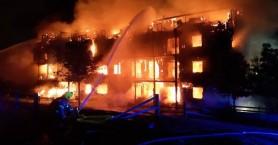 Μεγάλη έκρηξη και φωτιά σε κτίριο στο Λονδίνο