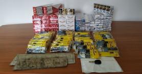 Κυκλοφορούσε στο Ηράκλειο με εκατοντάδες πακέτα λαθραίων τσιγάρων και καπνού (φωτο)