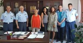 Συνάντηση φιλοζωικών σωματείων με τον Γενικό Αστυνομικό Περιφερειακό Διευθυντή Κρήτης