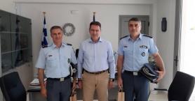 Συνάντηση Δημάρχου Χερσονήσου με τον Αστυνομικό Διευθυντή Ηρακλείου