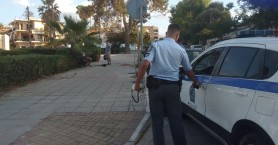 Τροχαίο με ηλεκτρικό πατίνι στη Χαλέπα (φωτο)