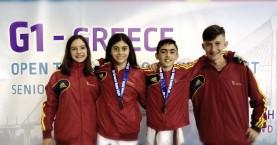 Δύο μετάλλια ο ΑΣ Κρήτες στο G1 Greece Open 2019