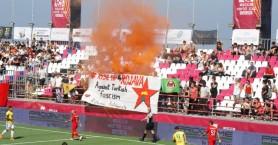 Socca World Cup: Διακοπή στον αγώνα Τουρκίας – Βραζιλίας λόγω …της επέμβασης στη Συρία!