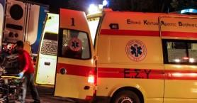 Τροχαίο ατύχημα με μηχανή - Τραυματίστηκε σοβαρά 21χρονος στη Σητεία