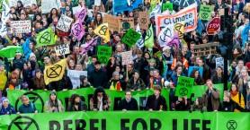Extinction Rebellion - Από το Ουέλινγκτον ξεκίνησαν οι κινητοποιήσεις της οργάνωσης