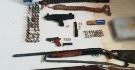 Ντου σε σπίτι - χωράφι και συλλήψεις για όπλα στο Ηράκλειο!