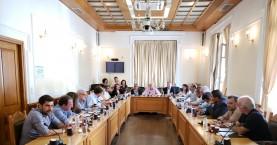 Ενημέρωση του Περιφερειακού Συμβουλίου για τα έργα στην Κρήτη