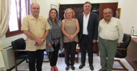 Η Πρέσβης της Κούβας στο Επιμελητήριο Ηρακλείου