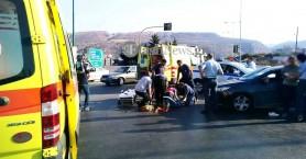 Δυο τροχαία με τραυματισμούς οδηγών μηχανών μέσα σε λίγη ώρα στα Χανιά (φωτο)