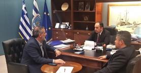 Στην Αθήνα ο Δήμαρχος Οροπεδίου Λασιθίου για υποδομές και αναπτυξιακά θέματα