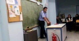 Ενδοσχολική επιμόρφωση για τη διαχείριση κρίσεων στο 11ο Δημοτικό Σχολείο Χανίων