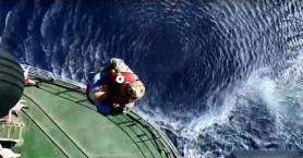 Επιχείρηση αεροδιακομιδής από Ρωσικό πολεμικό πλοίο κοντά στην Γαύδο (βίντεο)