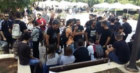 Στους δρόμους καθηγητές και φοιτητές στα Χανιά για την παιδεία