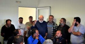 Στις περιοχές που επλήγησαν επισκέφθηκε ο Γιώργος Φραγκιουδάκης